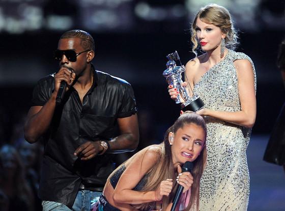 Ariana Grande Face Meme, Kanye West, Taylor Swift