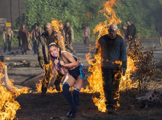 Ariana Grande Face Meme, Walking Dead