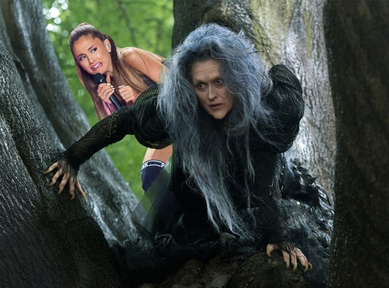 Ariana Grande Face Meme, Into the Woods
