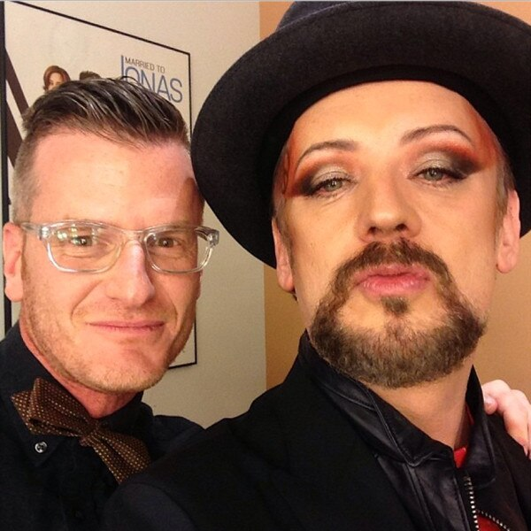 Marc Malkin, Boy George