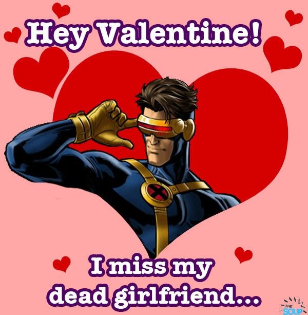 Superhero Valentines Soup