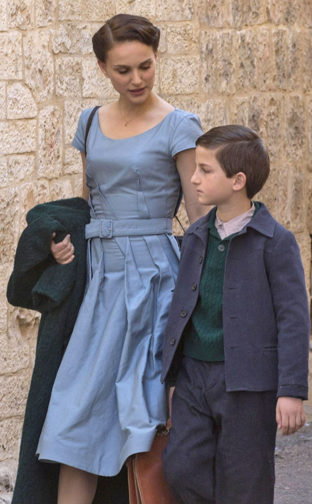 Natalie Portman Continues Filming New Movie in Jerusalem ...