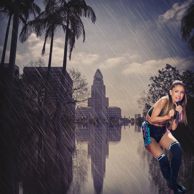 Ariana Grande Face Meme, Rain in Los Angeles