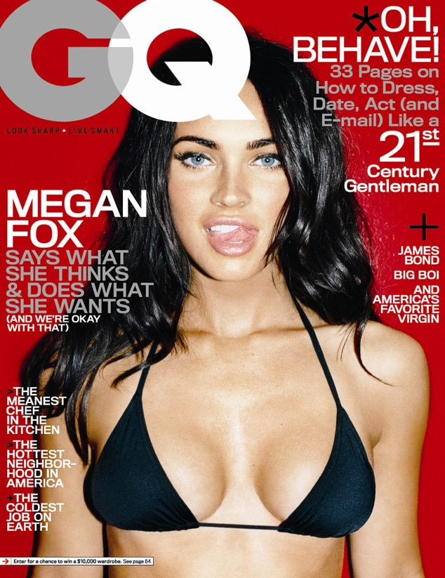 Megan Fox, GQ Magazine