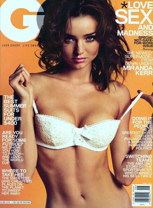 Miranda Kerr, GQ Cover