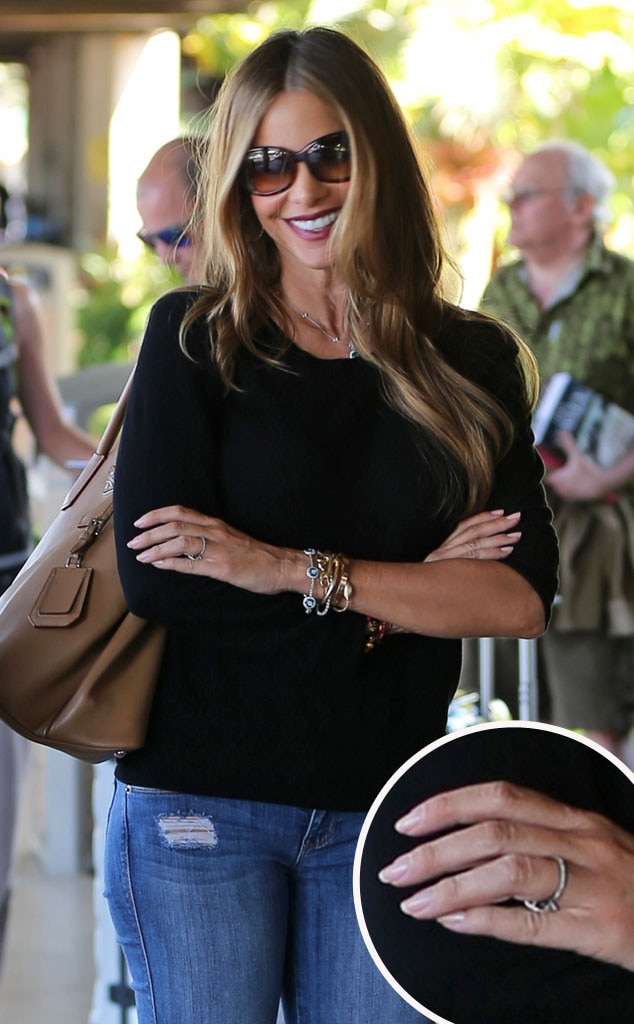 Sofia Vergara, Ring Inset
