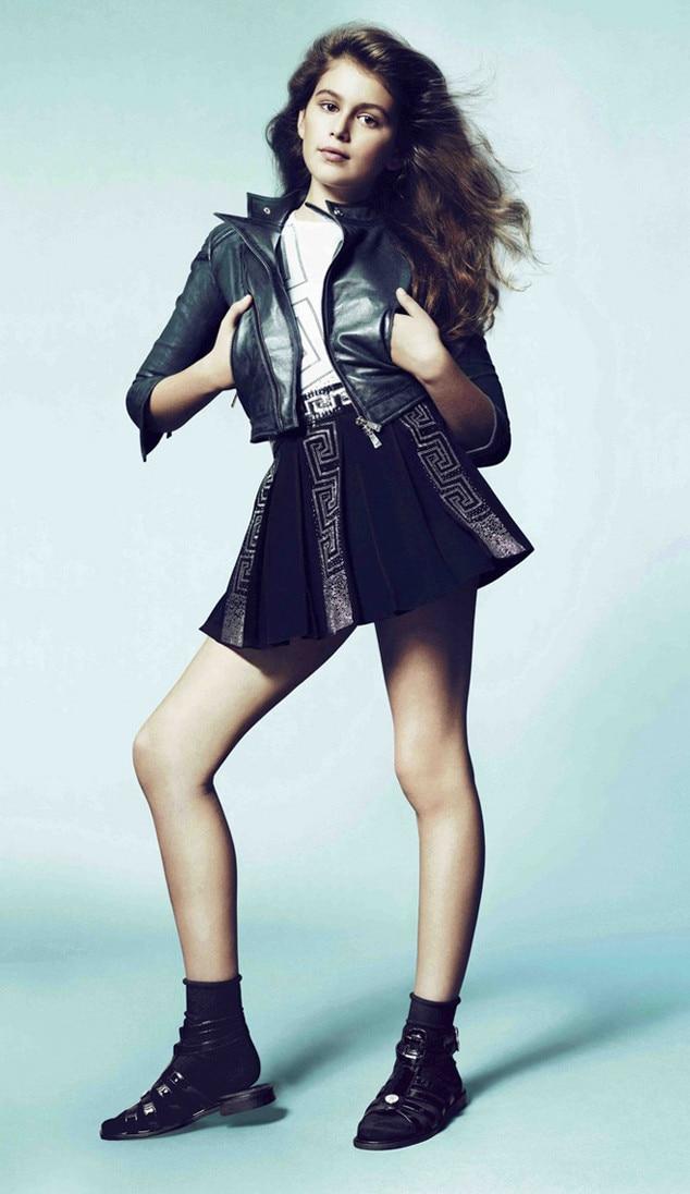Kaia Gerber, Young Versace