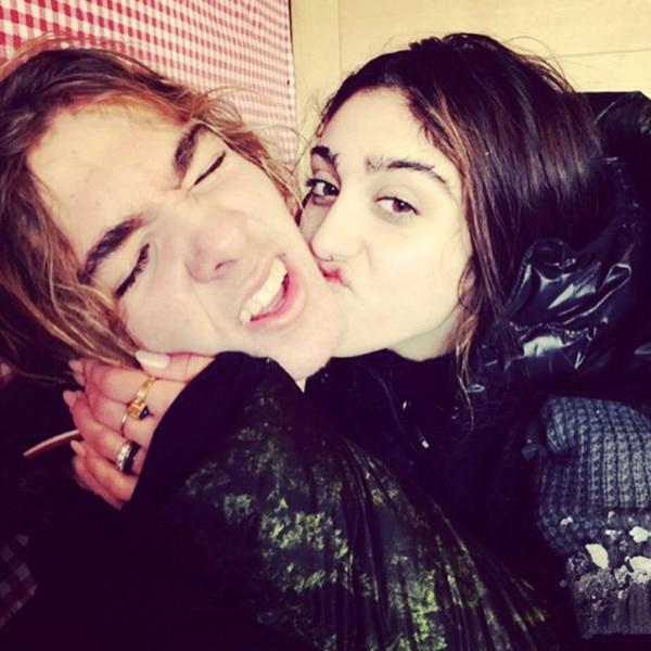 Madonna Instagram, Lourdes, Rocco