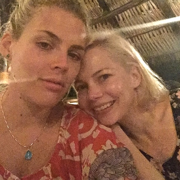 Busy Philipps, Michelle Williams, Instagram
