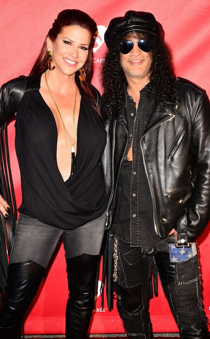 Slash Files for Divorce From Perla Ferrar After 13 Years ...