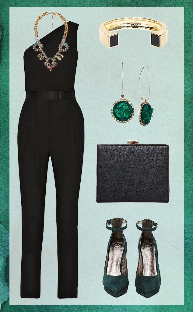 Dress Up Jumpsuit, Collage