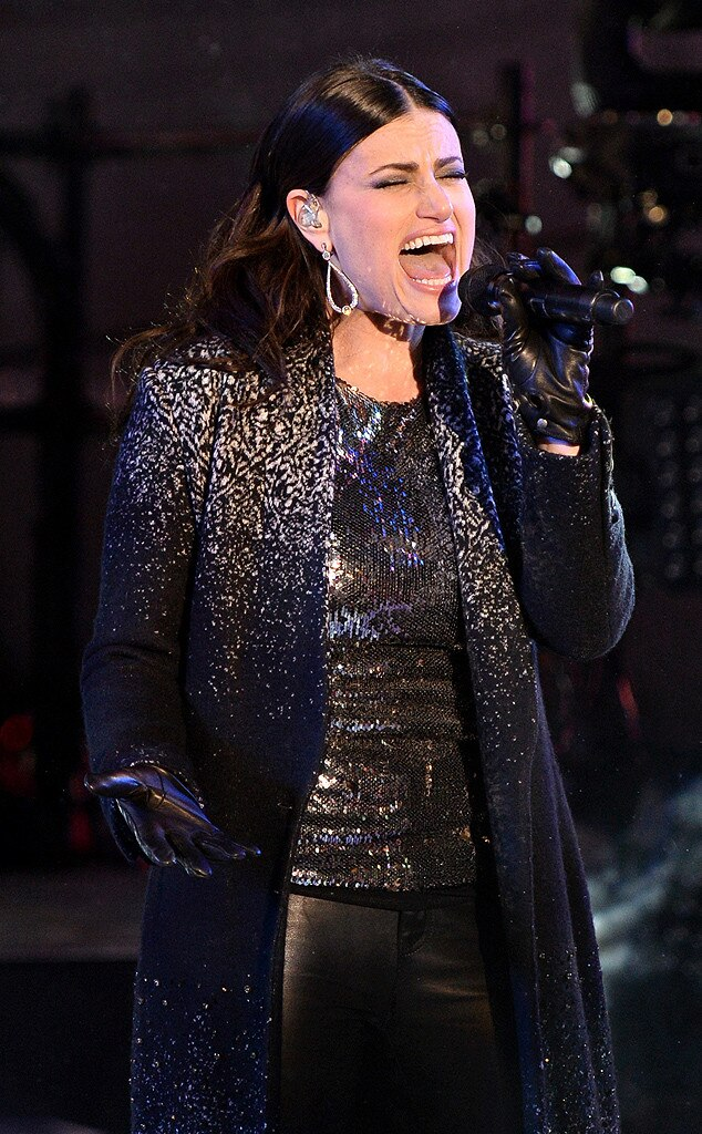 Idina Menzel, New Year's Eve 2015