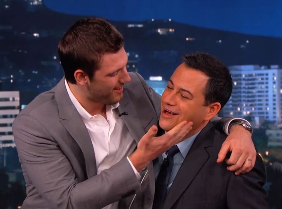 Alex Pettyfer, Jimmy Kimmel