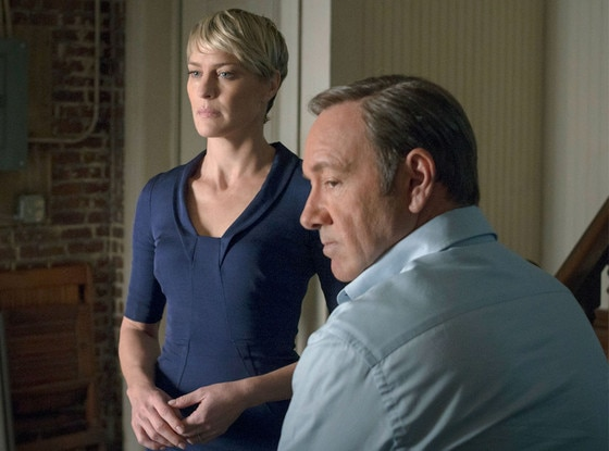 House of Cards, Robin Wright, Kevin Spacey