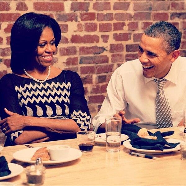 Michelle Obama, President Barack Obama