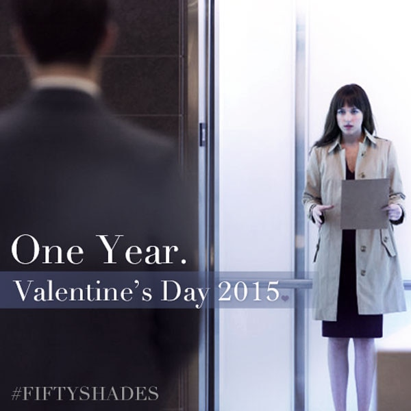 Fifty Shades of Grey valentine's day