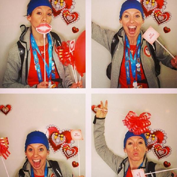Olympic Valentine's Day Instagram