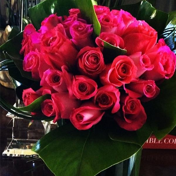Kris Jenner, Roses, instagram
