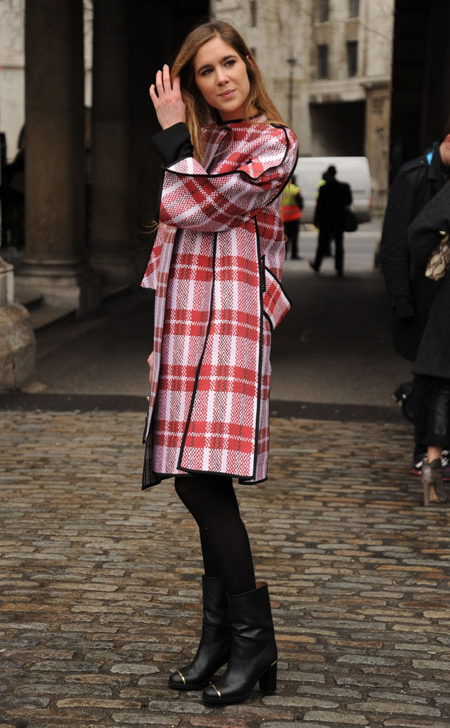 Cool Coat From London Fashion Week Fall 2014 Street Style E News