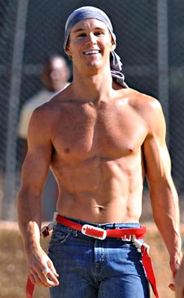 Ryan Kwanten, True Blood, Shirtless