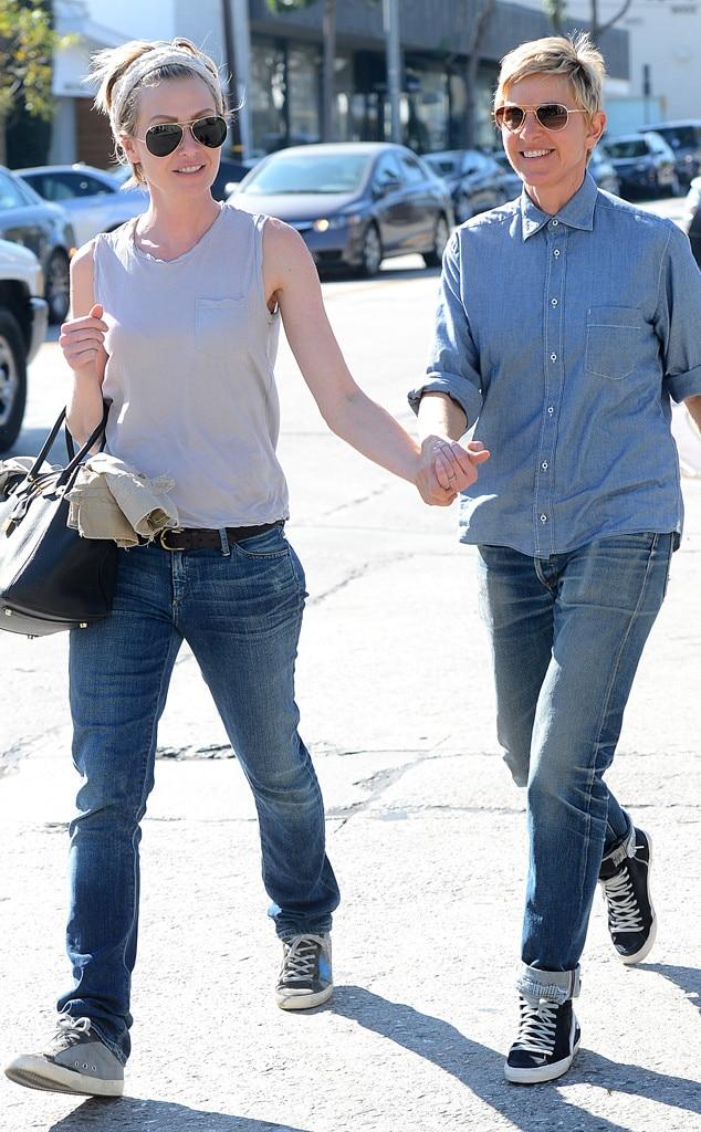 Ellen DeGeneres, Portia de Rossi, Valentines Day