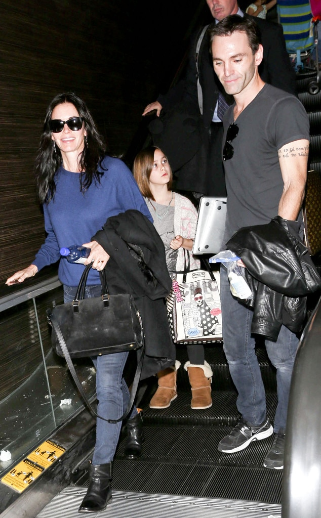 Courteney Cox, Johnny McDaid, Coco Arquette