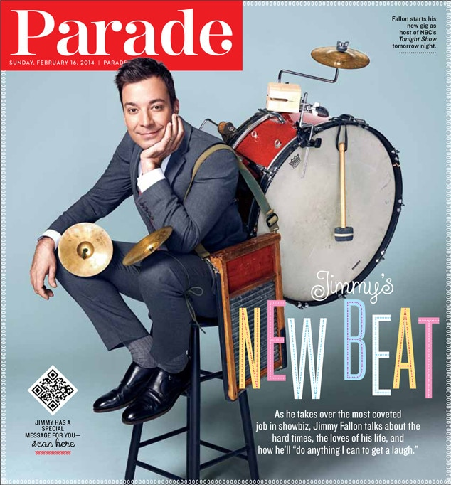 Jimmy Fallon, Parade Magazine Cover