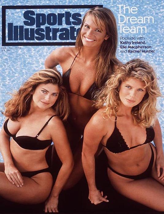 Sports Illustrated, Kathy Ireland, Elle Macpherson, Rachel Hunter