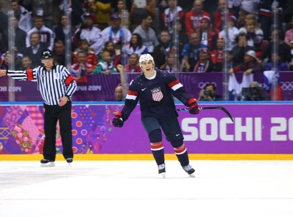 T.J. Oshie, 2014 Olympics