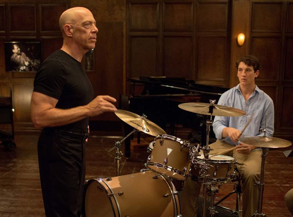 Whiplash, J.K. Simmons, Teachers