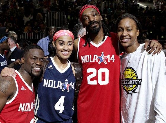 Kevin Hart, Skylar Diggins, Snoop Dogg, Tamika Catchings