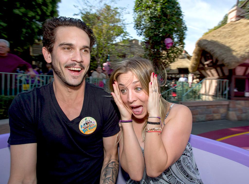 Kaley Cuoco, Ryan Sweeting, Disneyland
