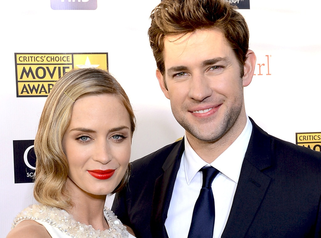 John Krasinski And Emily Blunt Share First Picture Of