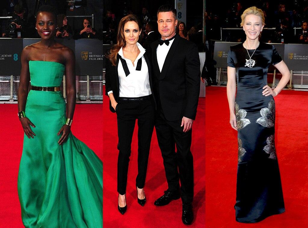 Baftas: 2014 BAFTAs Red Carpet Arrivals: See Brad Pitt And