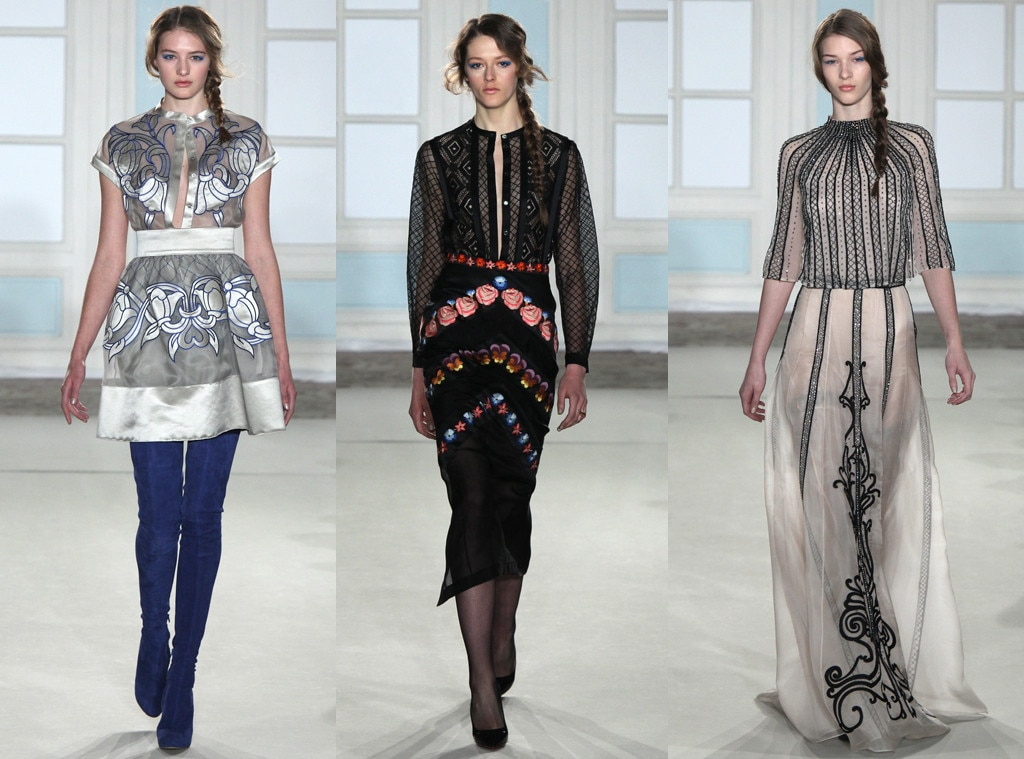 Temperley London, New York Fashion Week, 2014