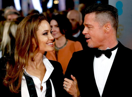 Brad Pitt, Angelina Jolie, BAFTA British Academy Film Awards 2014