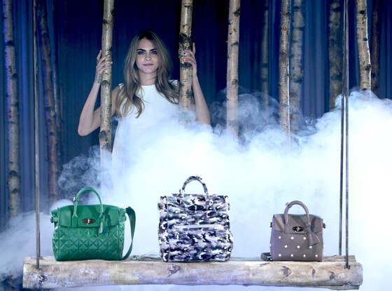 Cara Delevingne, Mulberry, LFW