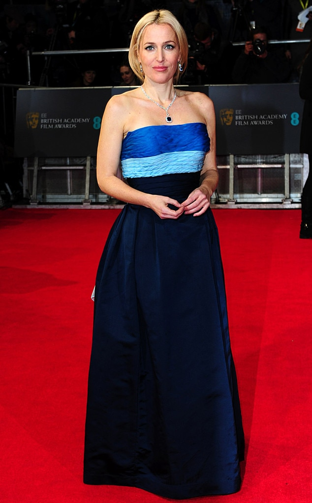 Gillian Anderson, BAFTA Film Awards 2014