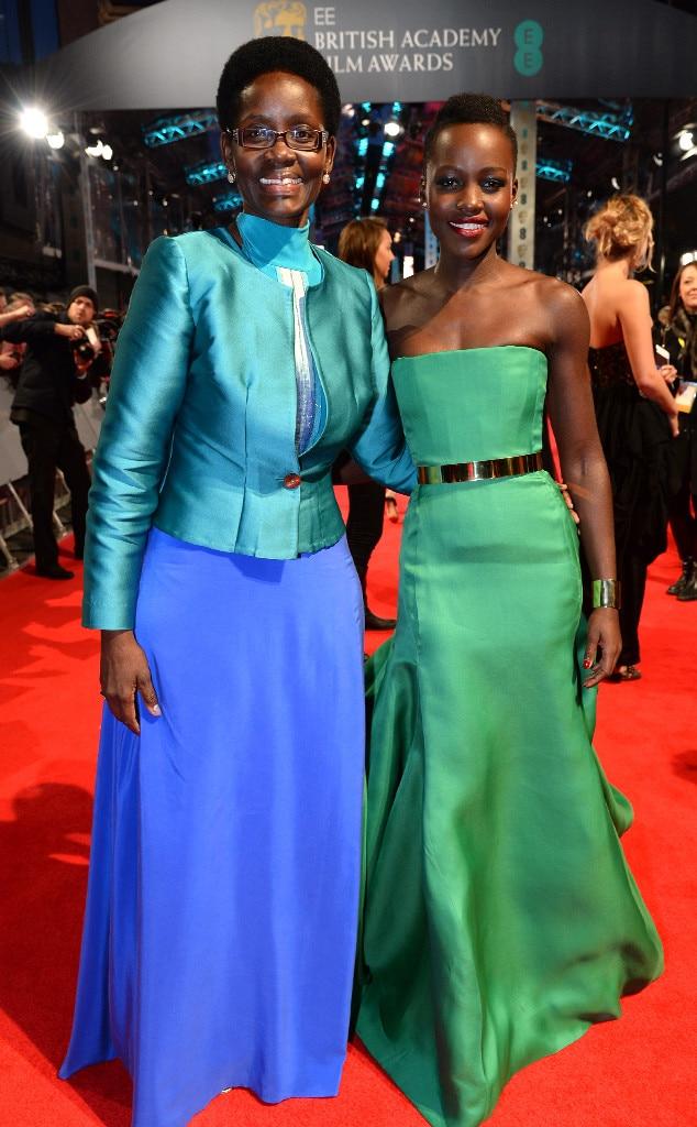 Dorothy Nyong'o, Lupita Nyong'o, BAFTA British Academy Film Awards 2014