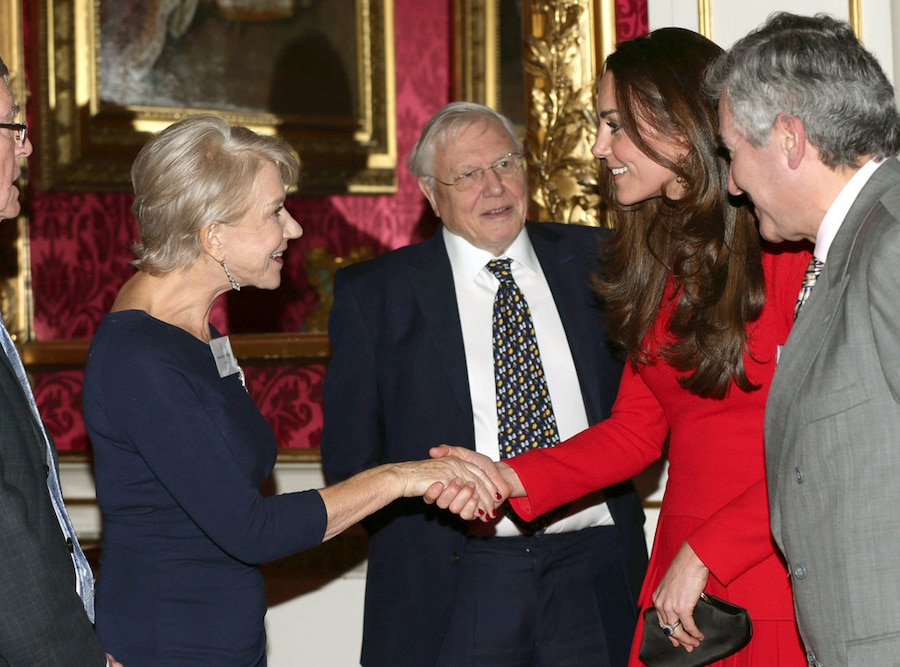 Helen Mirren, Catherine, Duchess of Cambridge, Kate Middleton