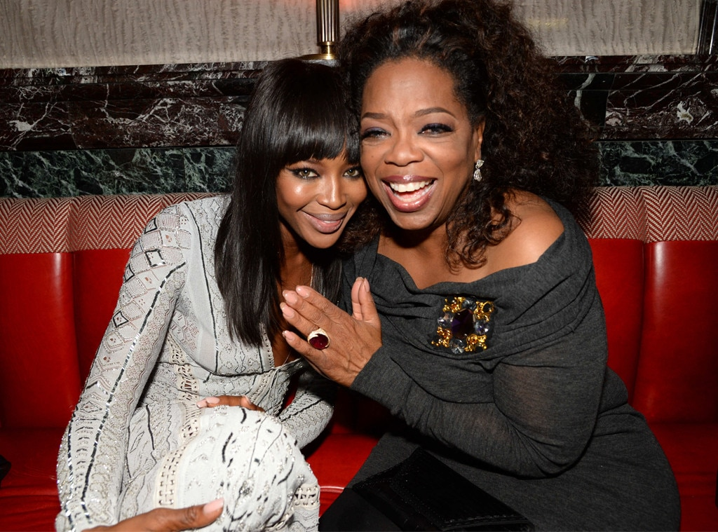 Oprah Winfrey, Naomi Campbell