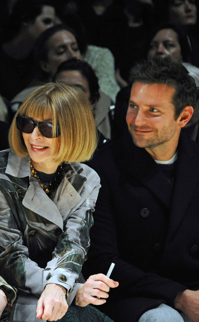 Anna Wintour, Bradley Cooper, Burberry