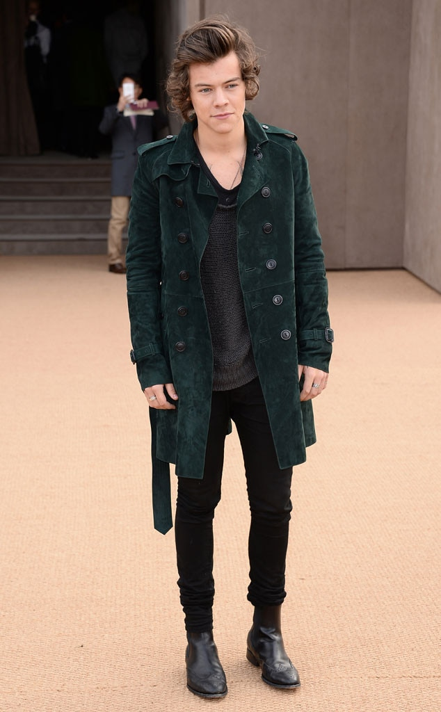 Harry Styles, Burberry