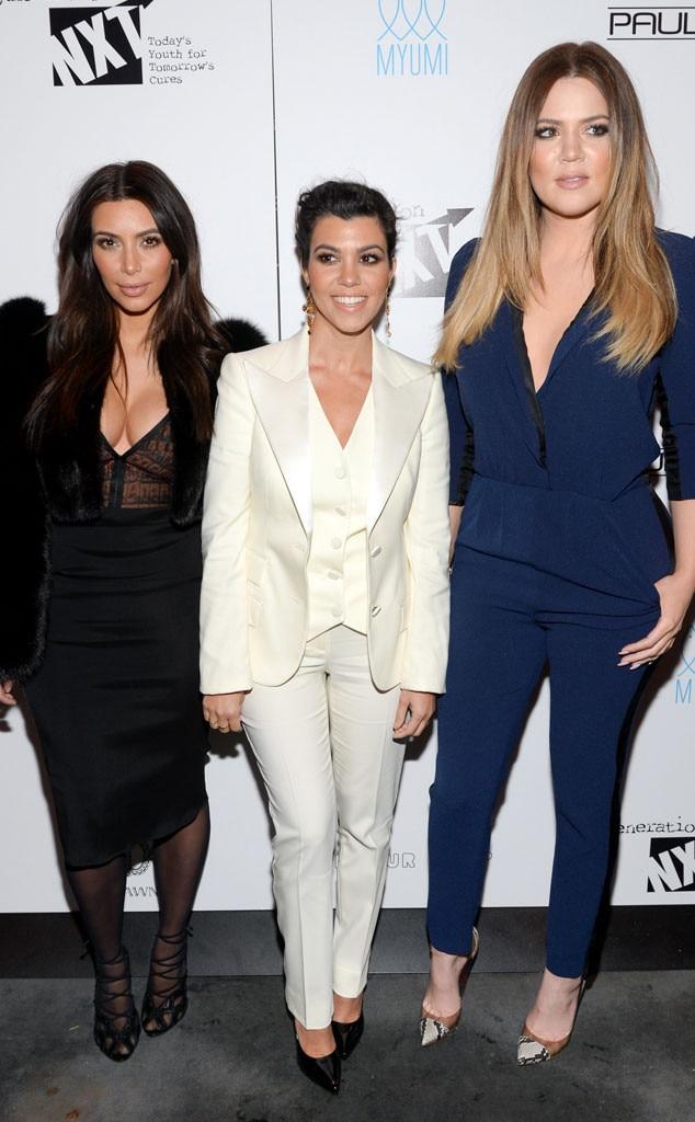 Kim Kardashian, Kourtney Kardashian, Khloe Kardashian, Celeb Sisters