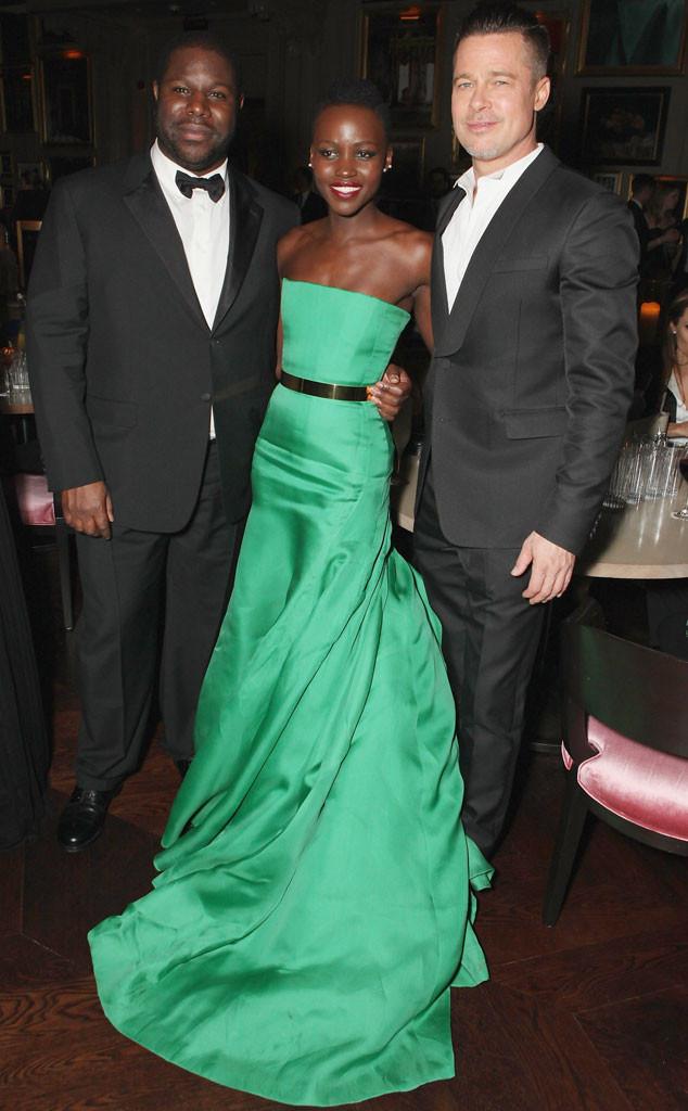 Steve McQueen, Lupita Nyong'o, Brad Pitt