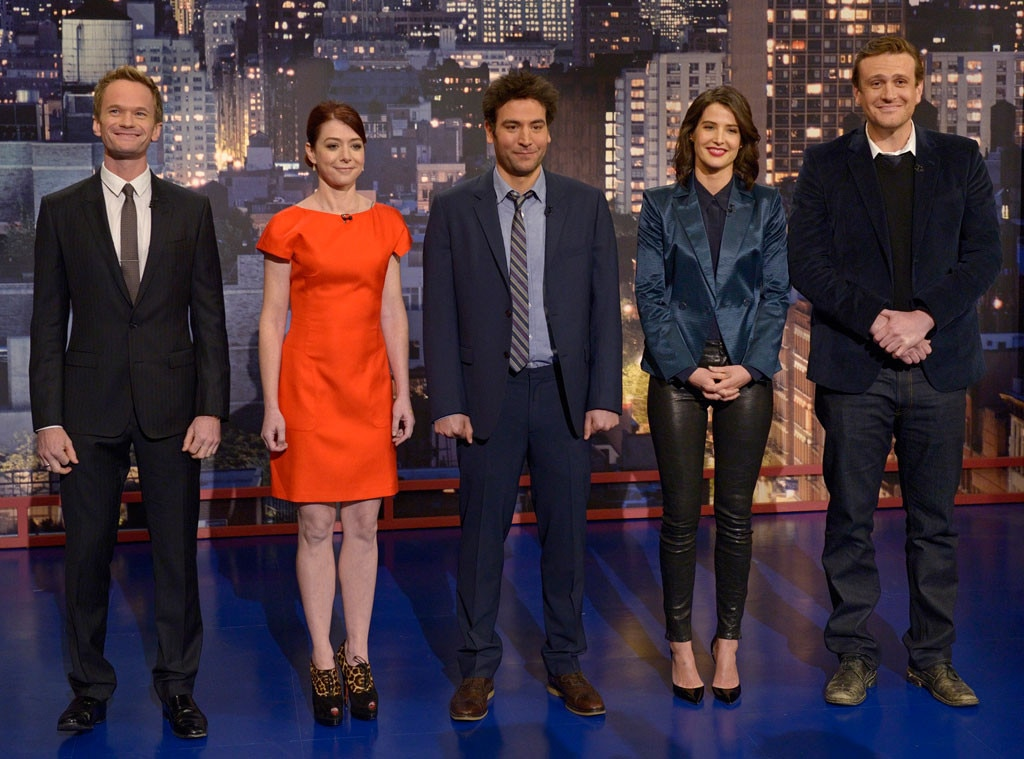 Neil Patrick Harris, Alyson Hannigan, Josh Radnor, Cobie Smulders, Jason Segel, How I Met Your Mother
