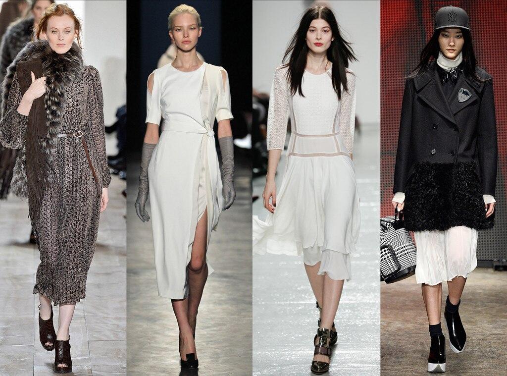Mid-Length Dresses: DKNY, Altazurra, Jason Wu, Michael  Kors, Rebecca Taylor