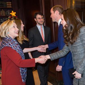 Duchess Catherine, Kate Middleton, Prince William, Chelsea Clinton, Hillary Clinton