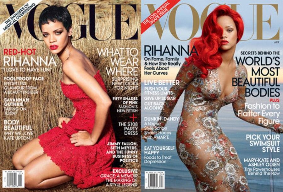 Rihanna, Vogue Cover