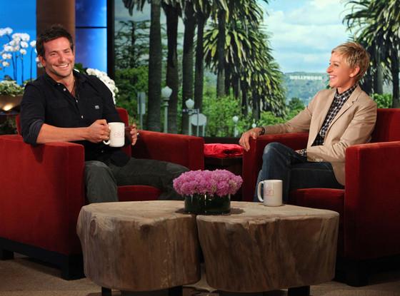Bradley Cooper, Ellen Degeneres, Ellen